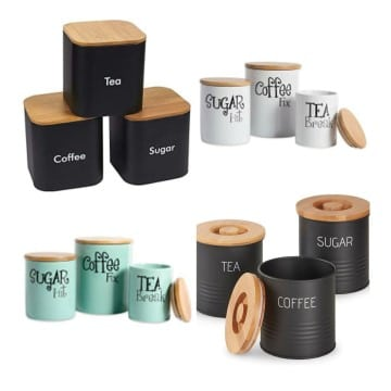 Latest Sugar|Tea And Coffee Canisters